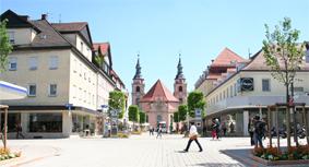 Platz in Ludwigsburg
